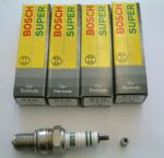 Bosch spark plugs set of 4 VW air cooled 1.7-1.8-2.0lt engine
